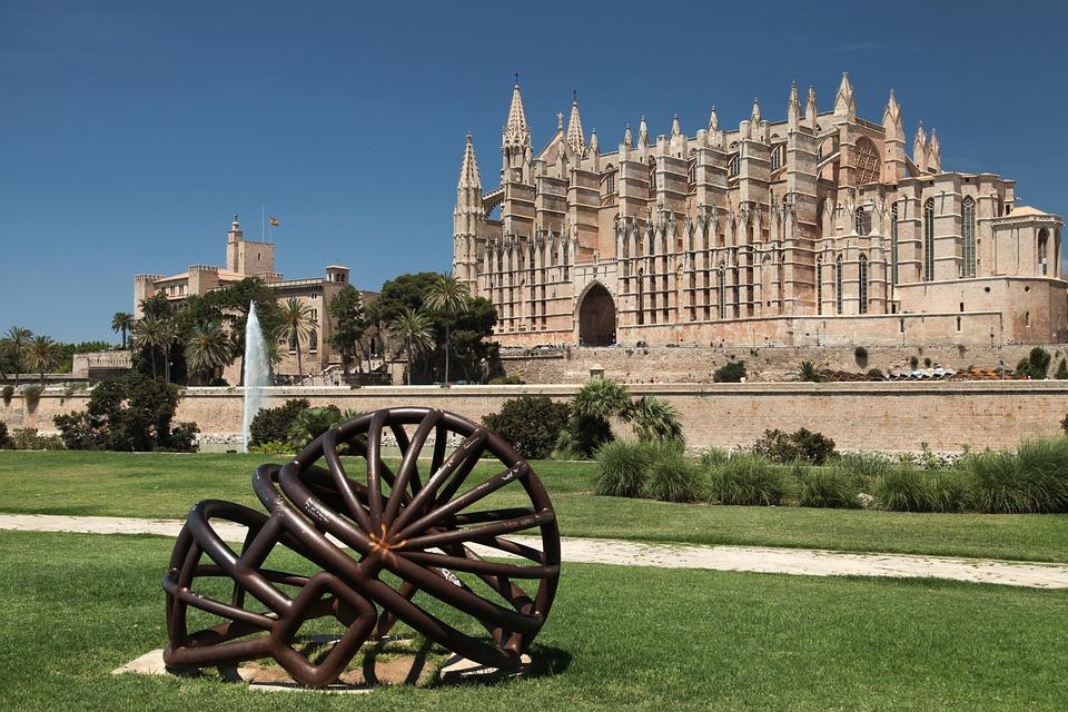 Cattedrale Gaudi Palma di Maiorca